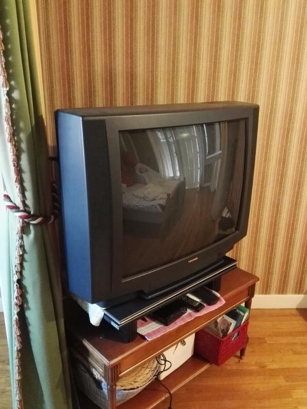 Recyclage, Récupe & Don d'objet : téléviseur cathodique