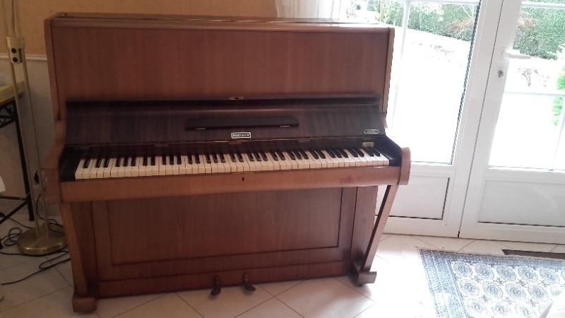 Recyclage, Récupe & Don d'objet : piano droit