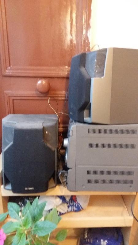 Recyclage, Récupe & Don d'objet : stéréo & amplificateurs ; radio