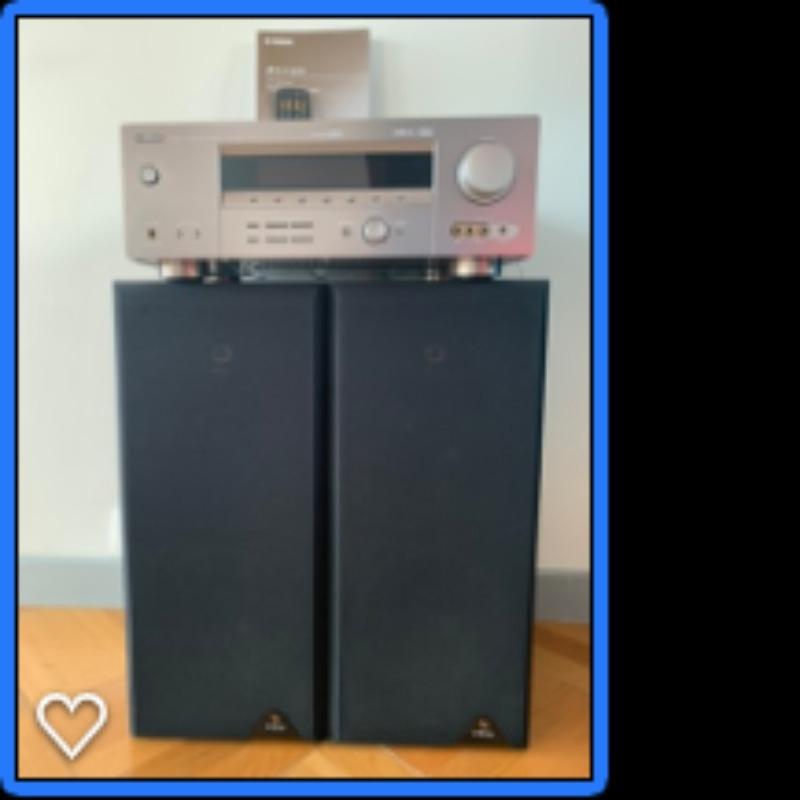 Recyclage, Récupe & Don d'objet : amplificateur yamaha (+ 2 enceintes infini...