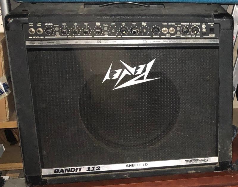 Recyclage, Récupe & Don d'objet : ampli guitare peavey bandit 112 (100 watt)