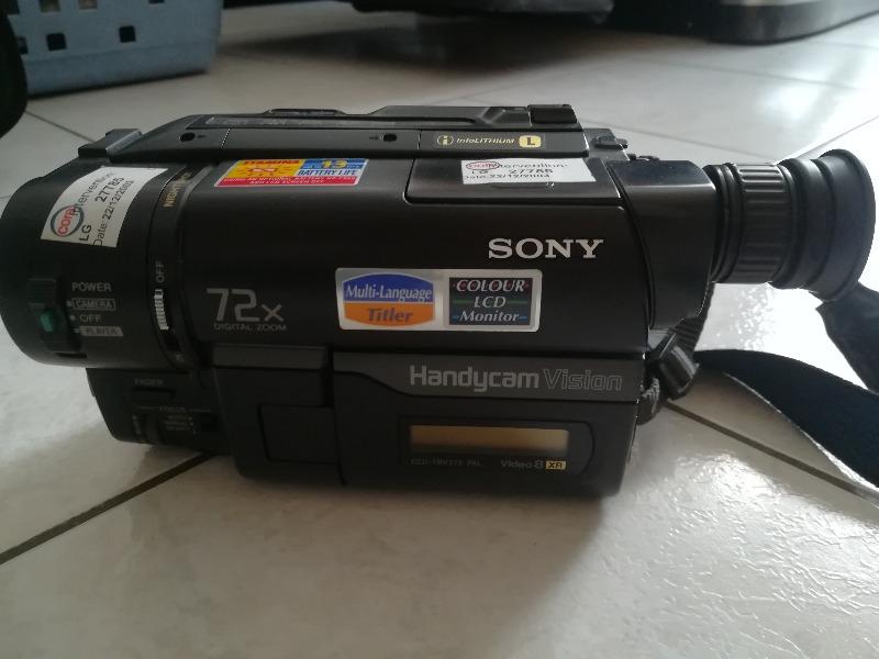 Recyclage, Récupe & Don d'objet : camera sony