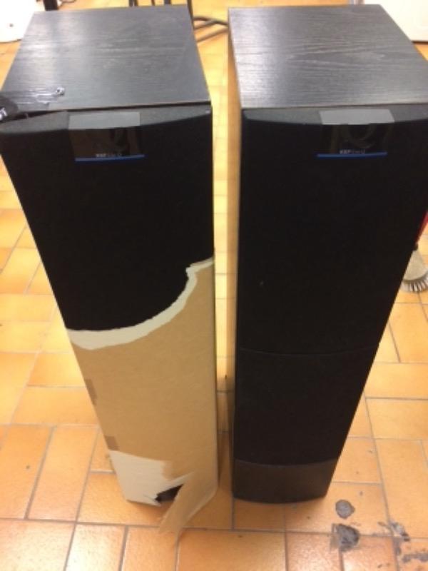 Recyclage, Récupe & Don d'objet : 2 enceintes tour kef q50