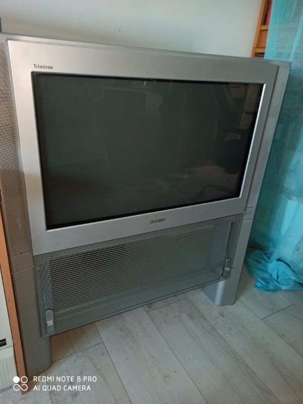 Recyclage, Récupe & Don d'objet : tv sony trinitron 55