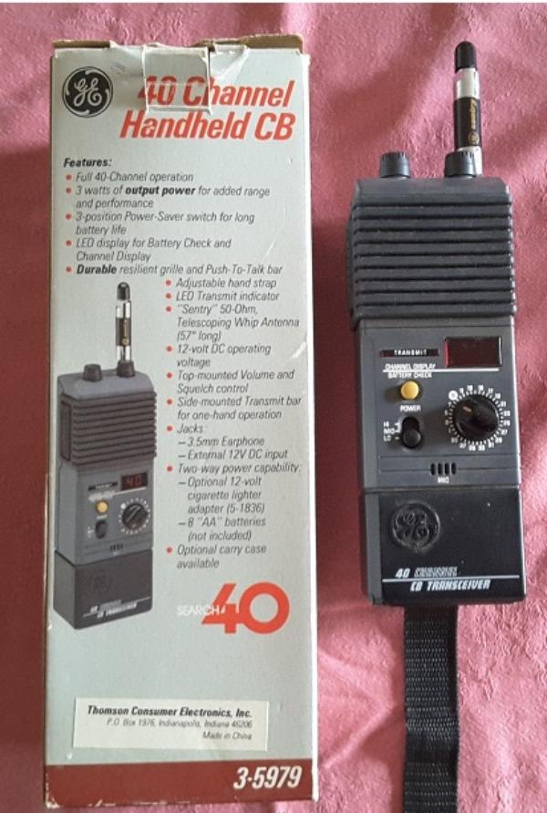 Recyclage, Récupe & Don d'objet : vieux talkie-walkie
