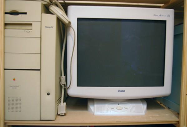 Recyclage, Récupe & Don d'objet : mac power pc + écran iiyama
