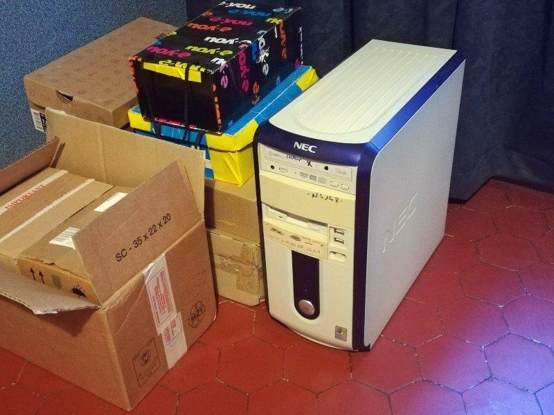 Recyclage, Récupe & Don d'objet : pc + composants informatiques