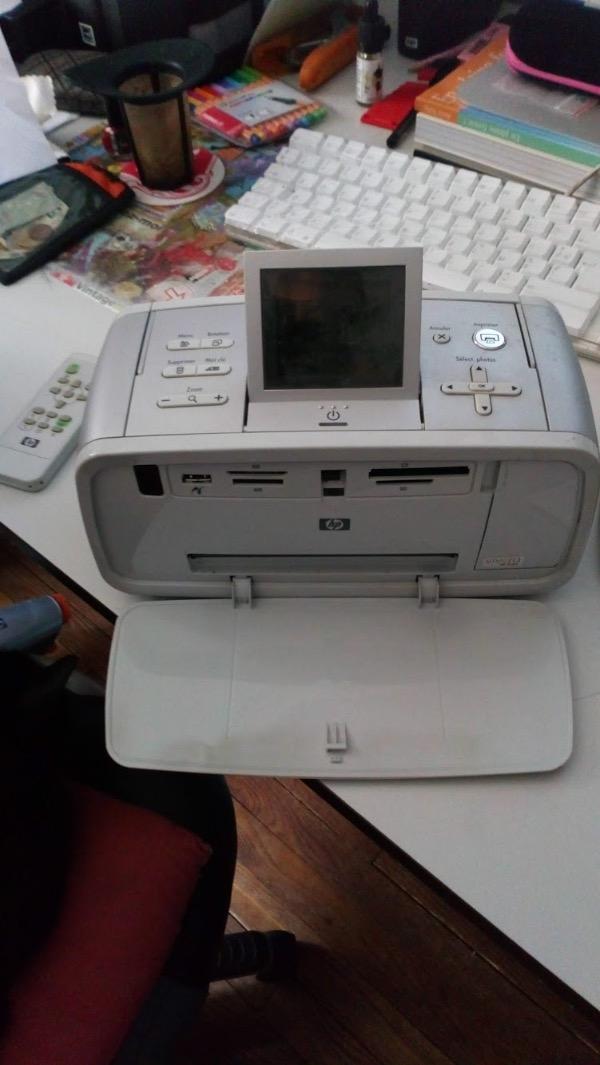 Recyclage, Récupe & Don d'objet : imprimante photo