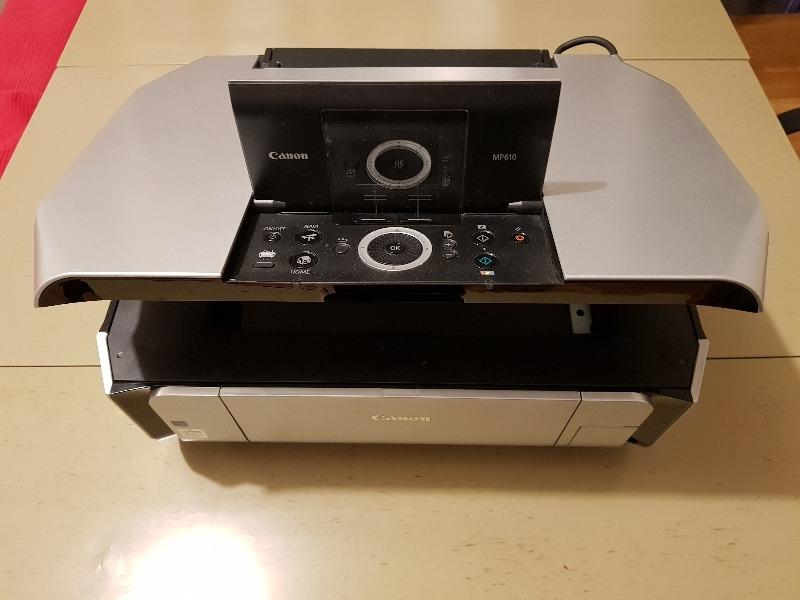 Recyclage, Récupe & Don d'objet : imprimante scanner canon pixma mp610