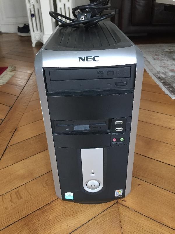 Recyclage, Récupe & Don d'objet : unite centrale nec sans disque dur