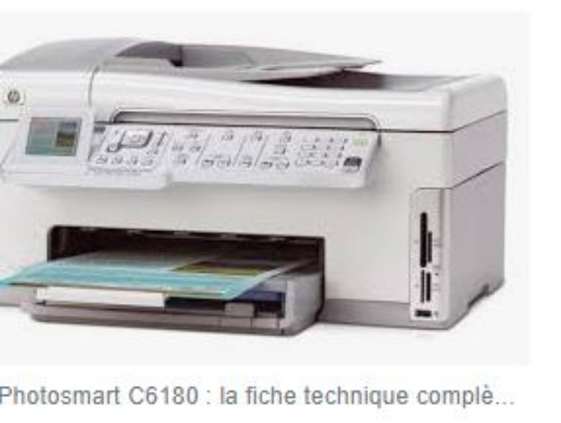 Recyclage, Récupe & Don d'objet : hp photosmart multifonction 6180