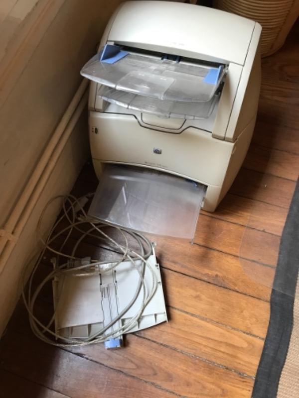 Recyclage, Récupe & Don d'objet : imprimante hp laserjet 1200 series