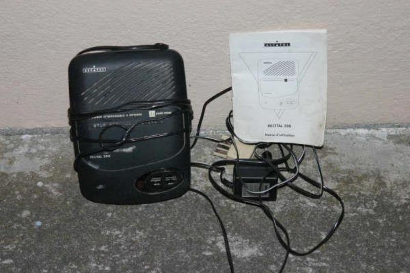 Recyclage, Récupe & Don d'objet : répondeur-enregistreur alcatel
