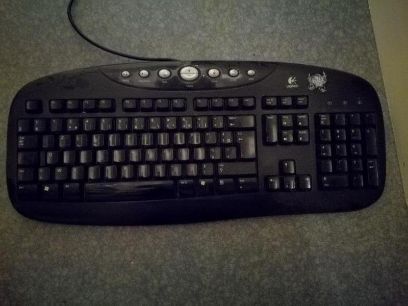 Recyclage, Récupe & Don d'objet : clavier d'ordinateur