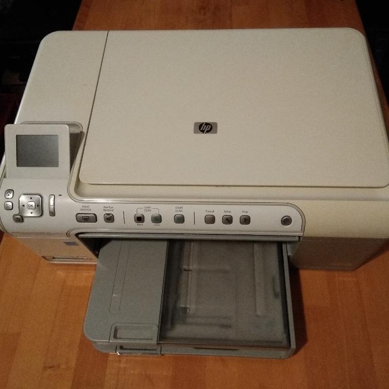 Recyclage, Récupe & Don d'objet : imprimante scanner hp c5390