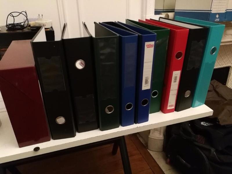 Recyclage, Récupe & Don d'objet : imprimante/scanner et classeurs