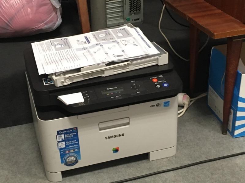 Recyclage, Récupe & Don d'objet : imprimante samsung couleur