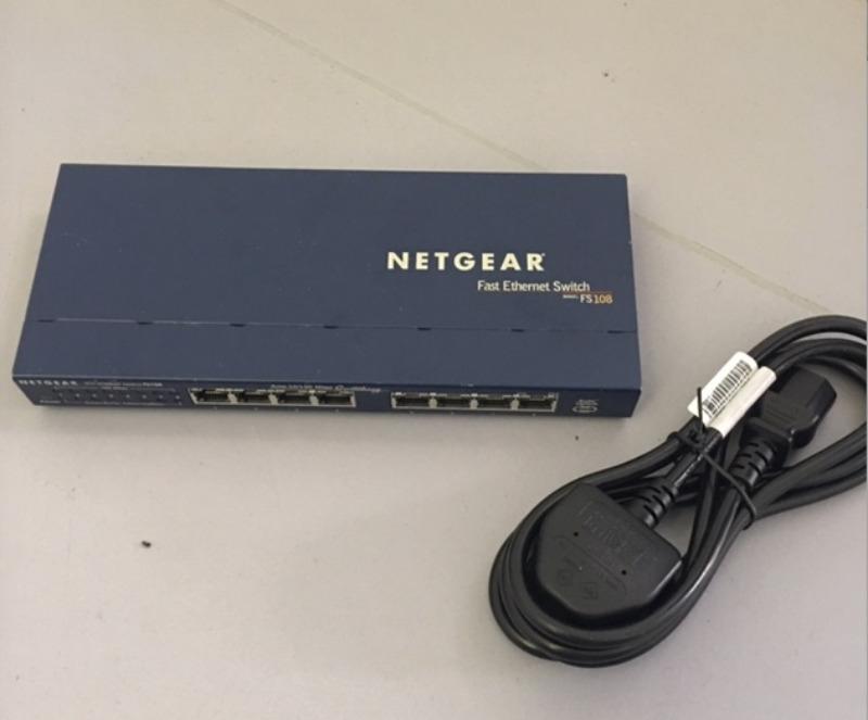 Recyclage, Récupe & Don d'objet : switch netgear fs108 (8 ports)