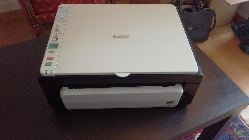 Recyclage, Récupe & Don d'objet : imprimante-scanner ricoh sp 112su ddst