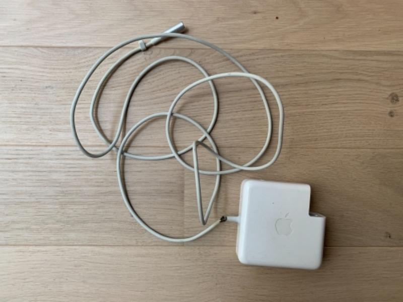 Recyclage, Récupe & Don d'objet : chargeur macbook pro