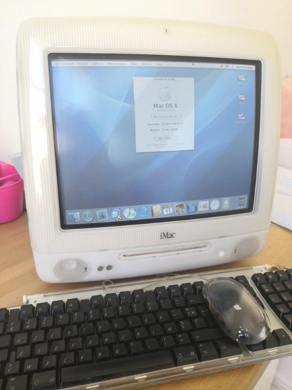 Recyclage, Récupe & Don d'objet : apple imac g3