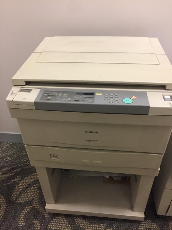 Recyclage, Récupe & Don d'objet : photocopieur canon np6317