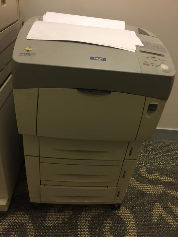 Recyclage, Récupe & Don d'objet : imprimante epson aculaser c4100
