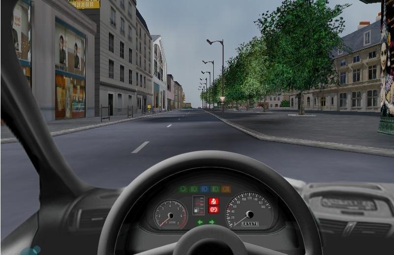 Recyclage, Récupe & Don d'objet : simulateur de conduite pour le permis