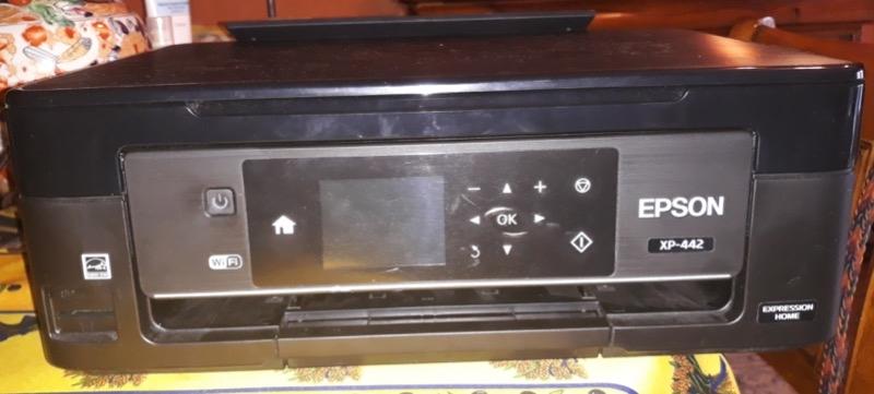Recyclage, Récupe & Don d'objet : imprimante epson xp 442 noire et blanc, couleurs