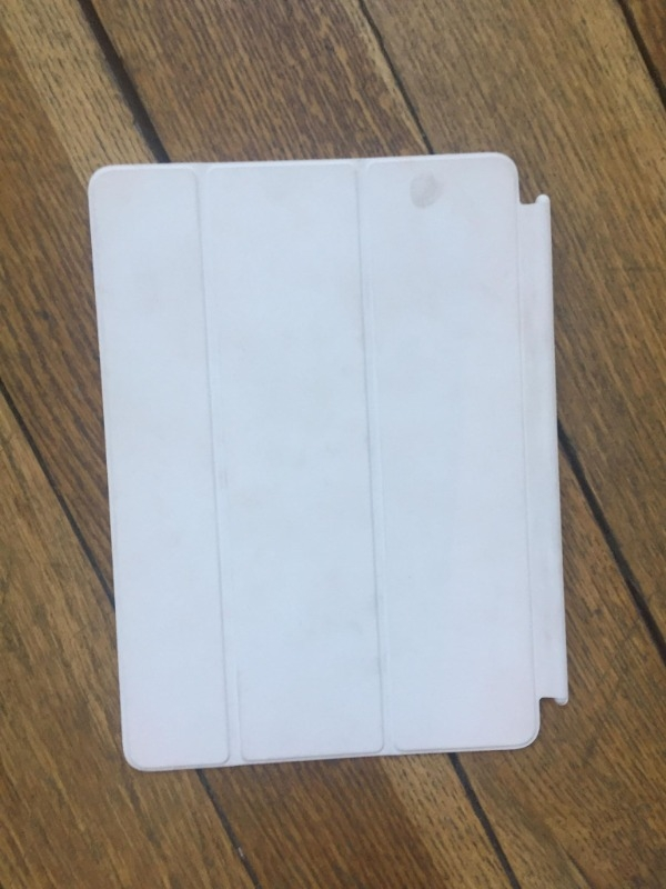 Recyclage, Récupe & Don d'objet : couverture ipad aimantée
