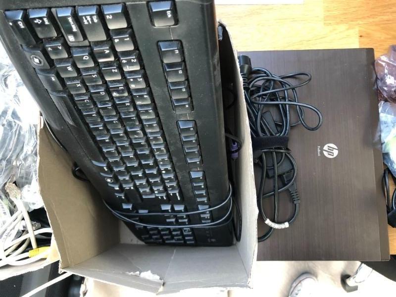 Recyclage, Récupe & Don d'objet : ordinateur portables et 4 claviers