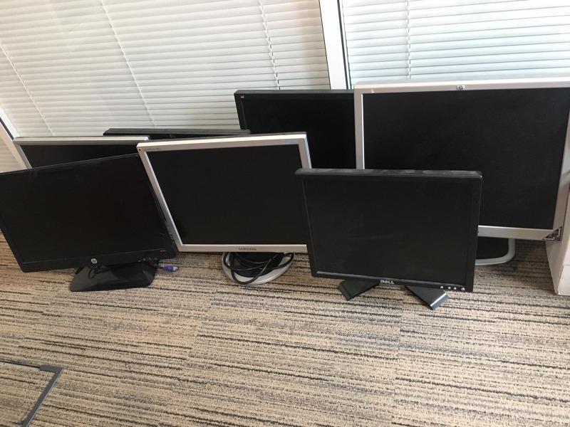 Recyclage, Récupe & Don d'objet : écrans d'ordinateurs