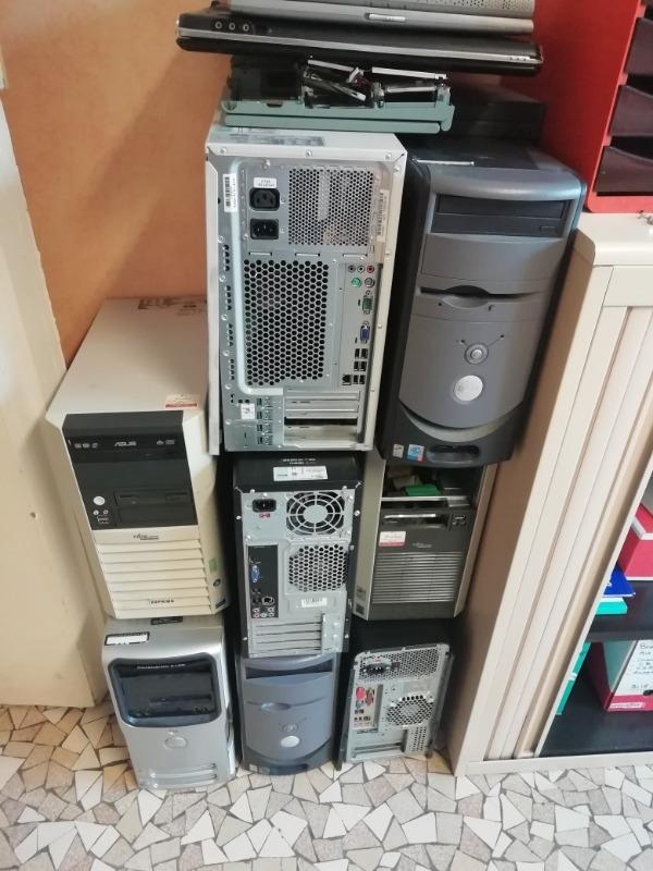 Recyclage, Récupe & Don d'objet : ordinateurs, imprimantes, écrans plats