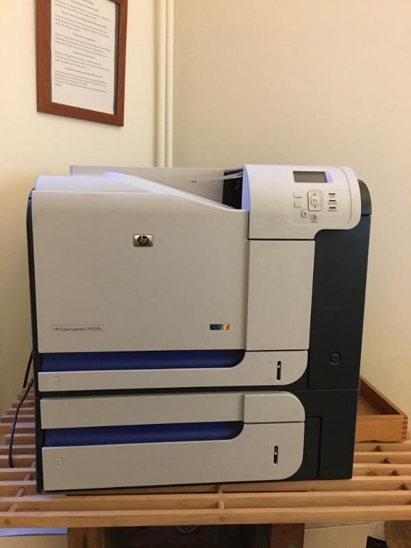 Recyclage, Récupe & Don d'objet : imprimante  hp color laserjet cp3525