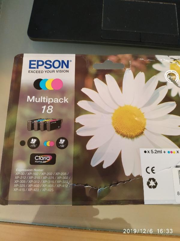 Recyclage, Récupe & Don d'objet : cartouches couleurs imprimante epson xp205