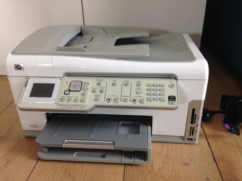Recyclage, Récupe & Don d'objet : imprimante-scanneur hp photosmart c6180