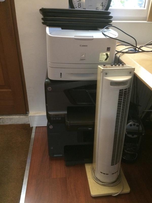 Recyclage, Récupe & Don d'objet : 3 imprimantes, 3 claviers, 1 ventilo, 1 ma...