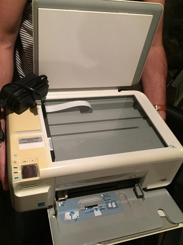 Recyclage, Récupe & Don d'objet : imprimante - scanner