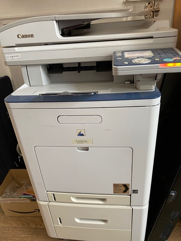Recyclage, Récupe & Don d'objet : imprimante laser canonmf8450 à réparer