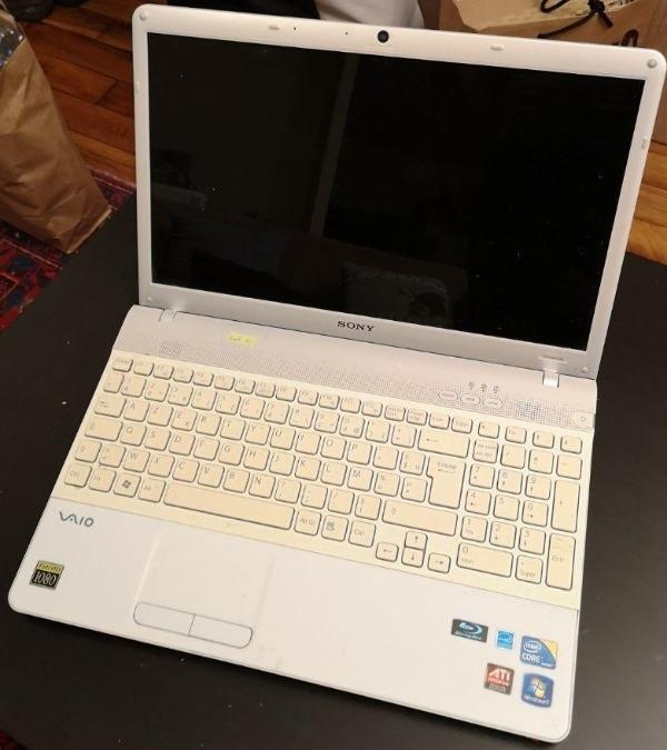 Recyclage, Récupe & Don d'objet : ordinateur portable sony vaio