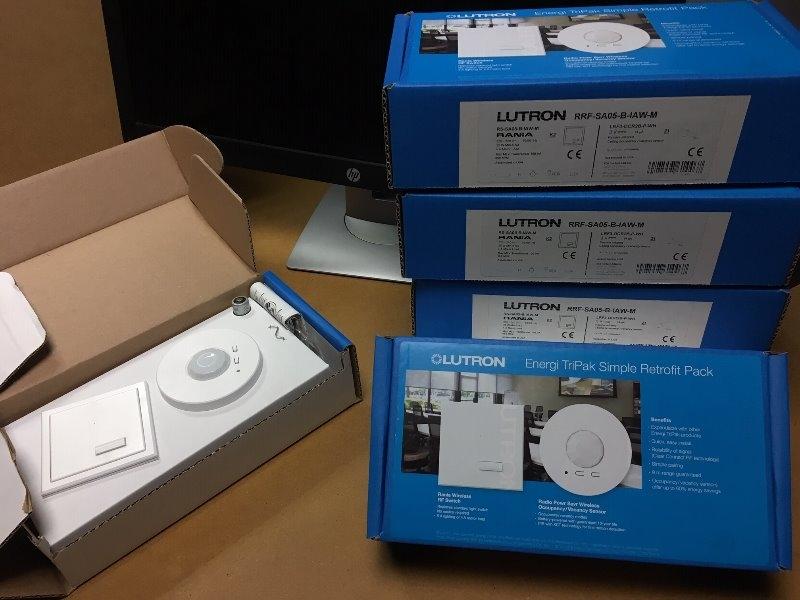 Recyclage, Récupe & Don d'objet : détecteurs présence lumière
