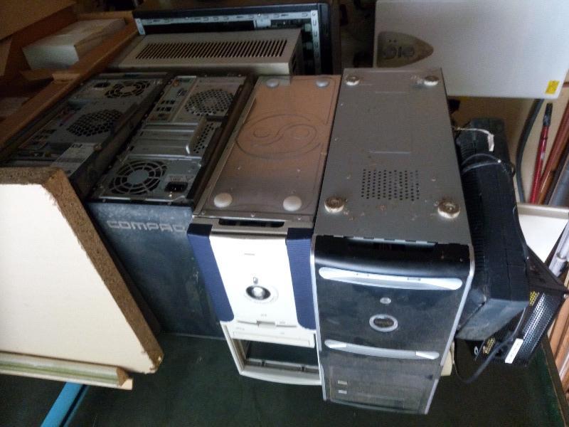 Recyclage, Récupe & Don d'objet : vieux matériel informatique