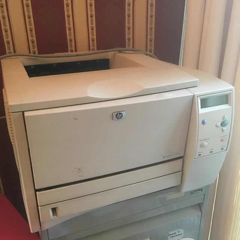 Recyclage, Récupe & Don d'objet : imprimante hp laserjet 2300 noir et blanc