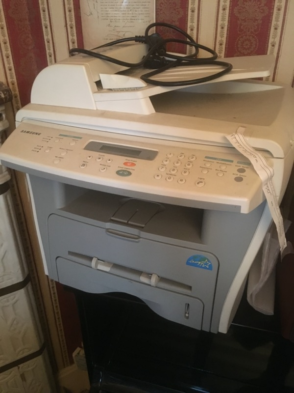 Recyclage, Récupe & Don d'objet : imprimante scanner fax samsung avec cartou...