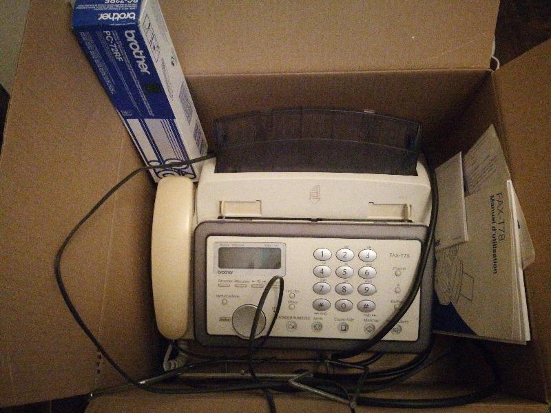Recyclage, Récupe & Don d'objet : fax,
