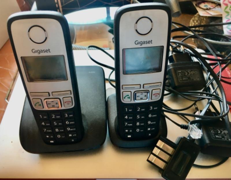Recyclage, Récupe & Don d'objet : téléphone double base gigaset