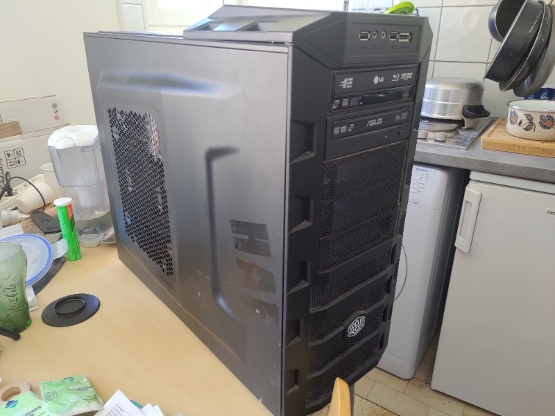 Recyclage, Récupe & Don d'objet : pc sans disque dur