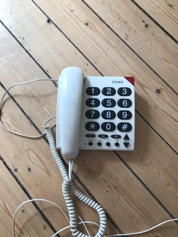Recyclage, Récupe & Don d'objet : téléphone grosse touche filaire doro