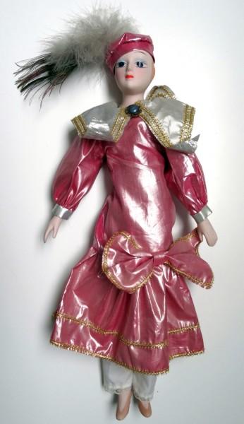 Recyclage, Récupe & Don d'objet : poupée en porcelaine hauteur 42 cm