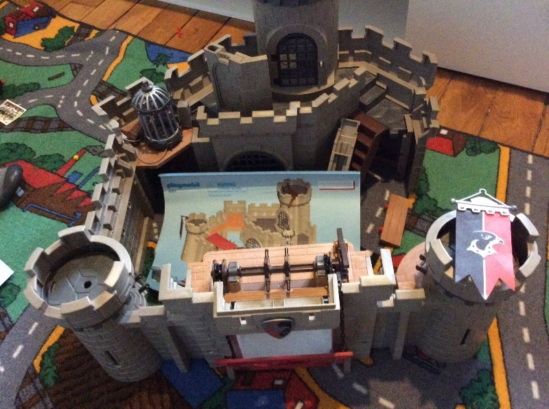 Recyclage, Récupe & Don d'objet : jeu château fort playmobil